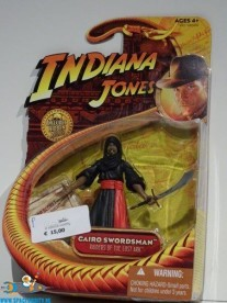 Indiana Jones actiefiguur Cairo Swordsman