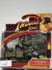 Indiana Jones actiefiguur German Soldier with motorcycle