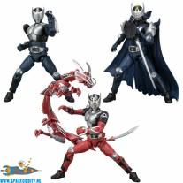 Kamen Rider 4 Shodo-X set van 6 doosjes