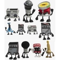 Kidrobot Bent Worlds Beats blind box vinyl figuur