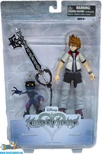 Kingdom Hearts actiefiguren Soldier en Roxas