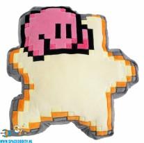 Kirby pluche 8 bit kussen ster