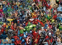 Marvel 80th anniversary; impossible puzzel