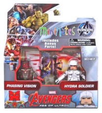 ​Marvel Avengers minimates Phasing Vision & Hydra Soldier