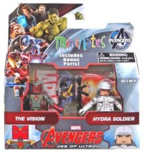 Marvel Avengers minimates The Vision & Hydra Soldier