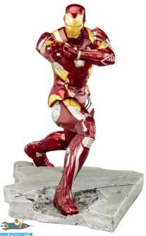 Marvel Captain America Civil War ARTFX+ pvc statue Iron Man Mark 46