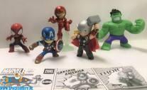 Marvel Gurihiru art figuren gashapon figuren set