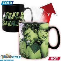 Marvel Hulk beker/mok heat change