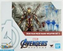 Marvel Iron Man S.H.Figuarts Iron Man MK50 Nano Weapon Set 2