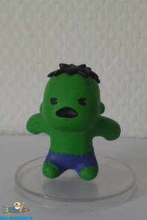 Marvel Kawaii art figure serie 2 Hulk