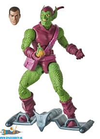 Marvel Legends retro Spider-Man actiefiguur Green Goblin