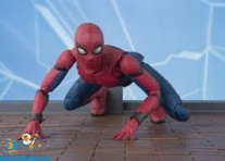 Marvel S.H.Figuarts Spider-Man & Option Act Wall