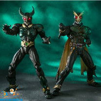 Masked Rider S.I.C. vol 63 Masked Rider Gills & Another Agito actiefiguren