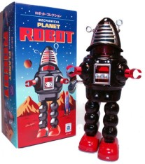 Mechanical Planet Robot met wind-up functie