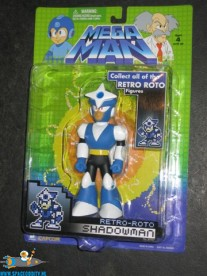 Mega Man Shadowman retro-roto figuur