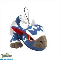 Monster Hunter pluche strap / sleutelhanger van White Gale Wind Nargacuga