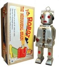 Mr. Robot The Mechanical Brain met wind-up functie
