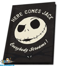 Nightmare before Christmas notebook A6