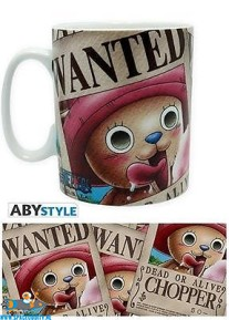 One Piece beker/mok Wanted Chopper