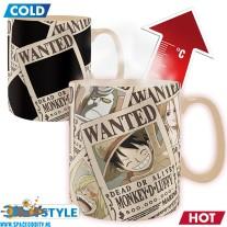 One Piece beker/mok Wanted heat change