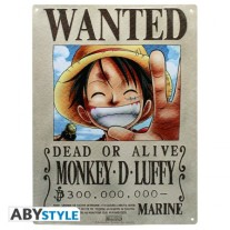 One Piece metal plate