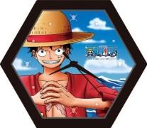 One Piece mini puzzel klok