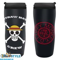 One Piece travel mug Luffy