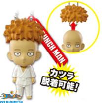 One Punch Man mascot keychain Saitama