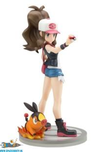 Pokemon ARTFX J pvc statue Hilda with Tepig 1/8 schaal 18 cm