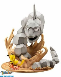 Pokemon ARTFX J pvc statue Onix vs. Pikachu 1/8 schaal