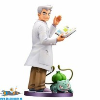 Pokemon ARTFX J statue Professor Oak with Bulbasaur