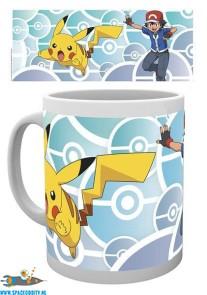Pokemon beker / mok Ash en Pikachu