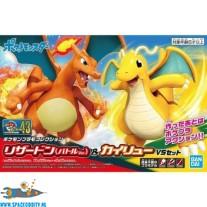 Pokemon bouwpakket 43 Charizard & Dragonite