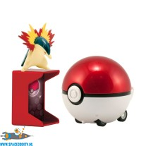 Pokemon Catch'n return set Typhlosion met Pokeball