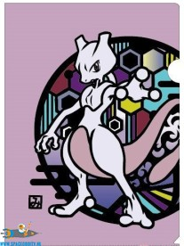 Pokemon documenthouder Mew & Mewtwo