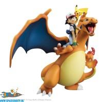Pokemon G.E.M. series Ash , Pikachu & Charizard pvc figuren