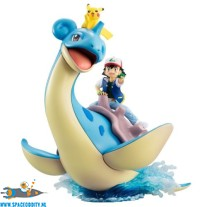 Pokemon G.E.M. series Ash , Pikachu & Lapras pvc figuren