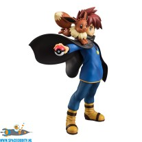 Pokemon G.E.M. series Gary Oak & Eevee pvc figuren