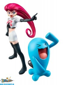 Pokemon G.E.M. series Jessie & Wobbuffet pvc figuren