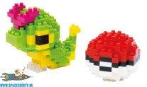 Pokemon Nanoblock NBPM 010 Caterpie & Monster Ball