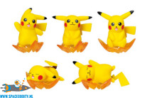 Pokemon Nosechara Pikachu blind box figuurtje