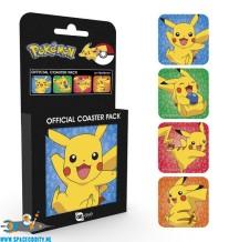 Pokemon onderzetters Pikachu