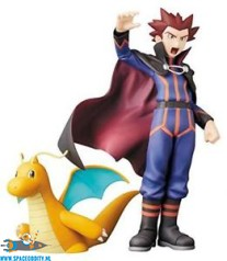 Pokemon perfect posing products Lance & Dragonite pvc figuren