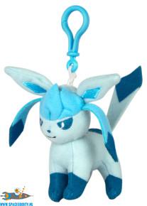 Pokemon pluche sleutelhanger met Glaceon