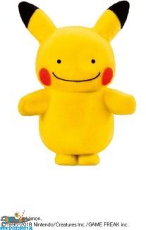 Pokemon Pokemofu Doll Ditto Pikachu