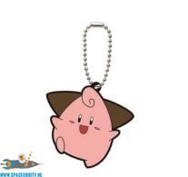 Pokemon rubber sleutelhanger serie 6 Cleffa