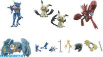 Pokemon Shodo series 2 figuren set