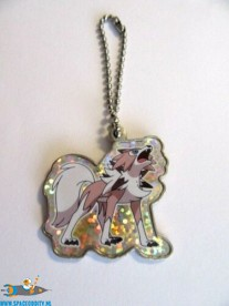 Pokemon Sun and Moon metal keychain serie 2 Lycanroc