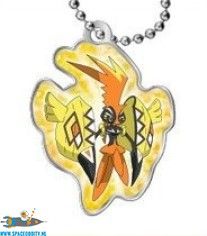 Pokemon Sun and Moon metal keychain serie 1 Tapu Koko