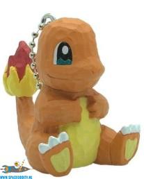 Pokemon wood sculpture sleutelhanger Charmander